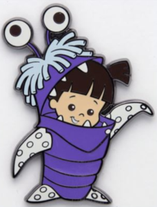 Monster Boo - 3D Re-Release pin