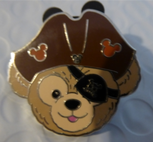 Duffy's Hats - Pirates of the Caribbean pin