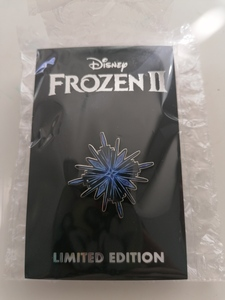 Frozen II Ice Symbol pin