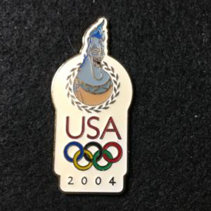 USA 2004 Olympic logo Hades pin