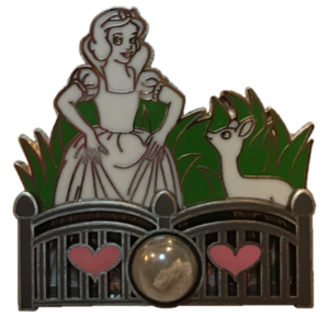 Piece of Disneyland History - Snow White Grotto pin
