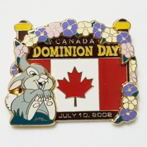 Thumper - Canada Dominion Day (Error Pin) pin