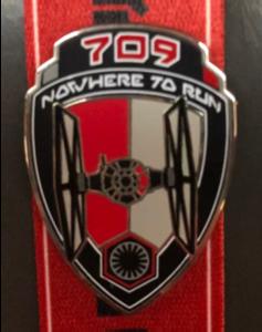 709 Nowhere to run pin