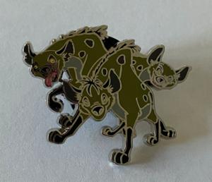 Shenzi, Banzai, and Ed cutout pin