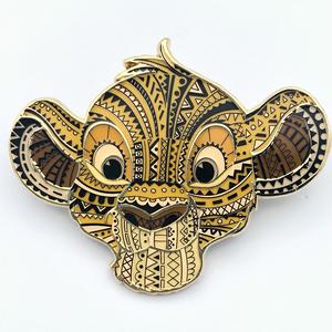 Simba Pattern Head pin