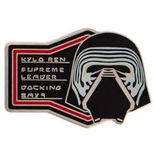 Kylo Ren - First Order Booster Pin Set – Star Wars: Galaxy's Edge pin