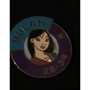 Mulan 28-34 pin