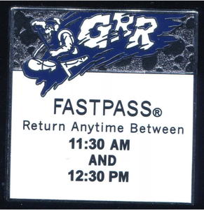 WDI- Fastpass Grizzly River Rapids pin