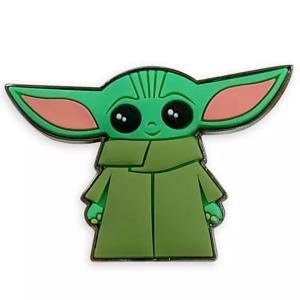 3D PVC Baby Yoda pin