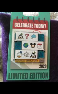2020 world emoji day pin pin