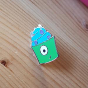 Mini Cupcake Monsters Inc pin