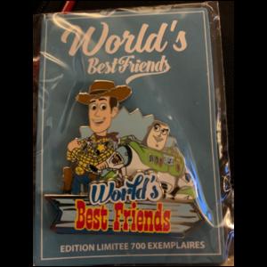 Woody & Buzz - World's Best Friends pin