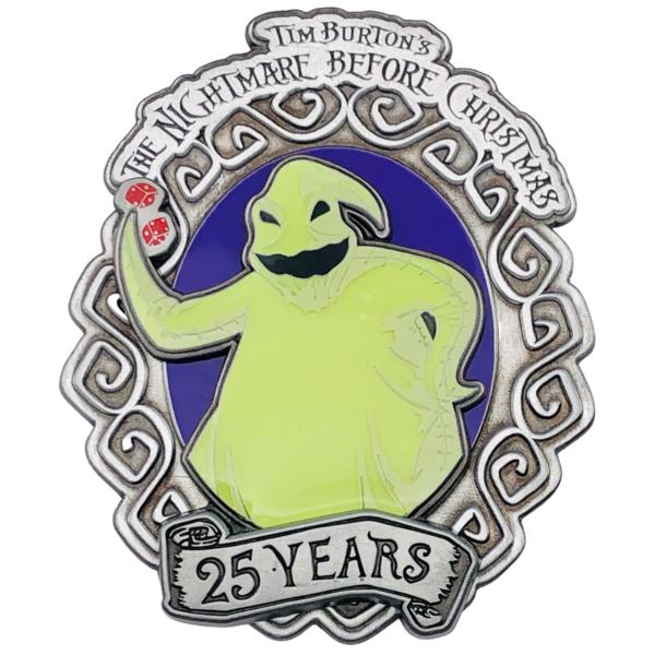 Oogie Boogie - NBC 25th Anniversary - Walt Disney Imagineering pin