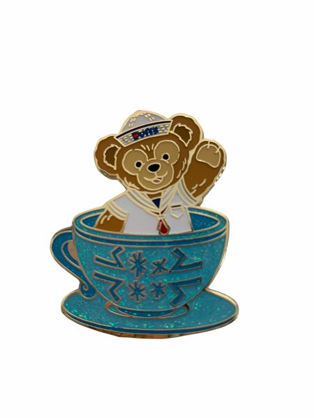 Duffy in a Teacup Pin