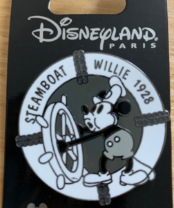 Steamboat Willie 1928 pin