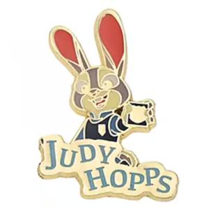 Judy Hopps - Judy Hopps & Nick Wilde Pin Badge Set 5th Anniversary pin