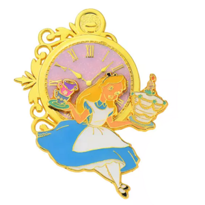Alice and pocket watch - 70th Anniversary Shop Disney Japan pin