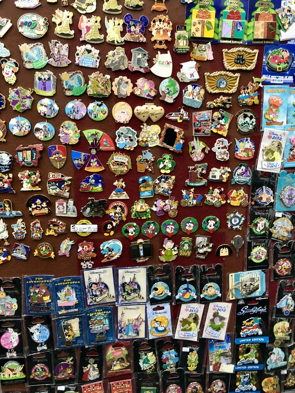 Here is just now of the pinboards, there were _so_ many pins!