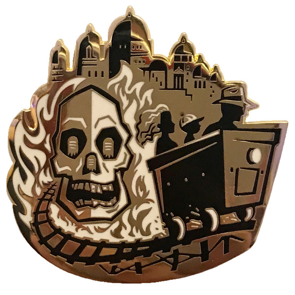 D23 - 2019 (10th Anniversary) Gold Member Gift - Indiana Jones and the Temple of Doom pin