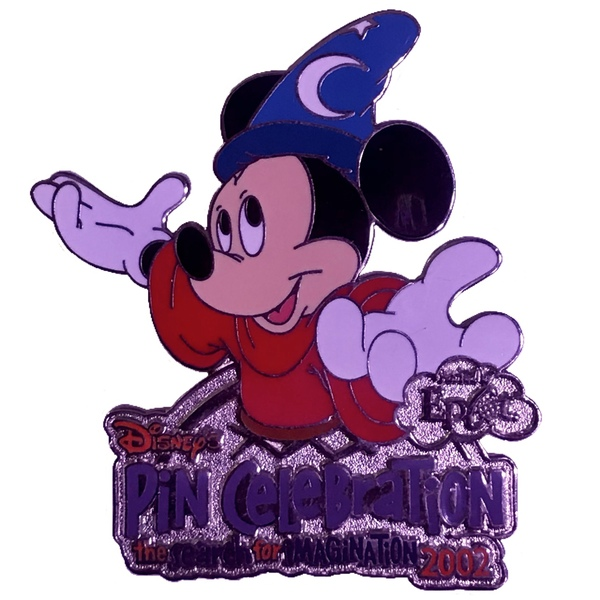 Disney's Pin Celebration 2002 - The Search  for Imagination - Day 3: Fab Five's Completer - Sorcerer's Apprentice (Mickey) pin