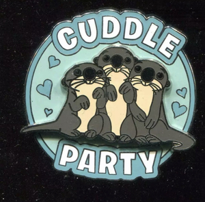 Finding Dory Otters Cuddle Party Pin pin