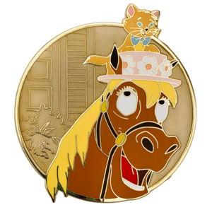 Berlioz and Frou Frou - Castle Creations and Co pin
