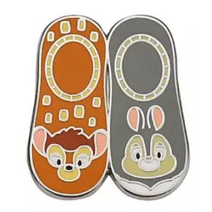 Bambi and Thumper - Magical Mystery pins series 18 - character socks pin