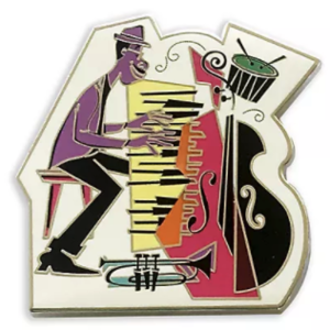 Joe Gardner playing piano pin