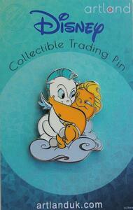 Baby Hercules & Baby Pegasus pin