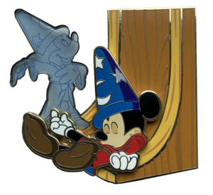 Mickey's Dream - Fantasia - Artland pin