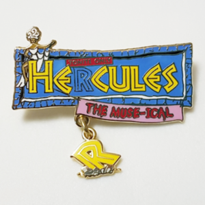 "Hercules the ""Muse-ical""  pin"