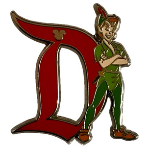 DLR - Hidden Disney 2020 - Series 1 - Disneyland D - Peter Pan pin