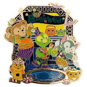 Duffy and Friends Magic Access Exclusive - Boogieween - Hong Kong Disneyland pin