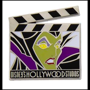 Maleficent clapper board pin