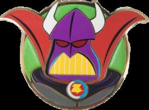 Zurg Round Artland pin
