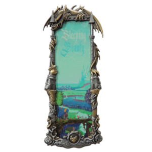 Sleeping Beauty - Framed Harman Artland  pin