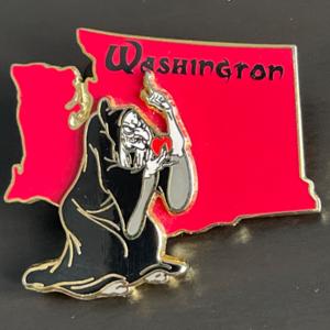 The State Character Series Pins Washington pin