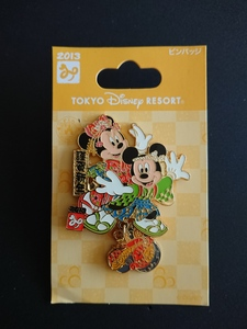 Tokyo Disney Resort Happy New Year 2013 pin