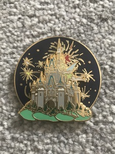 Cinderella Castle Firework Spinner pin