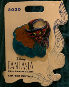 Fantasia 80th Anniversary LE  pin