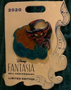 Fantasia 80th Anniversary LE  pin