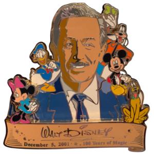 100 Years of Magic Walt Jumbo pin