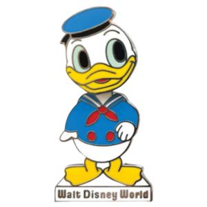 Donald Bobble Head– Walt Disney World 50th Anniversary pin