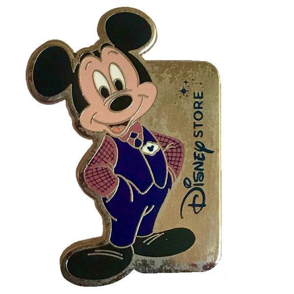 DS - Cast Exclusive - Mickey in Disney Store CM Costume pin