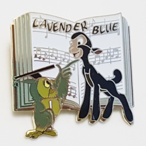 """Magical Musical Moment No. 12 - So Dear to My Heart - """"Lavender Blue""""  pin"""
