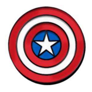 Silver Age - D23 Exclusive - 80th Anniversary Captain America pin
