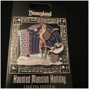 Jack & Zero Haunted Mansion Holiday 2019 pin