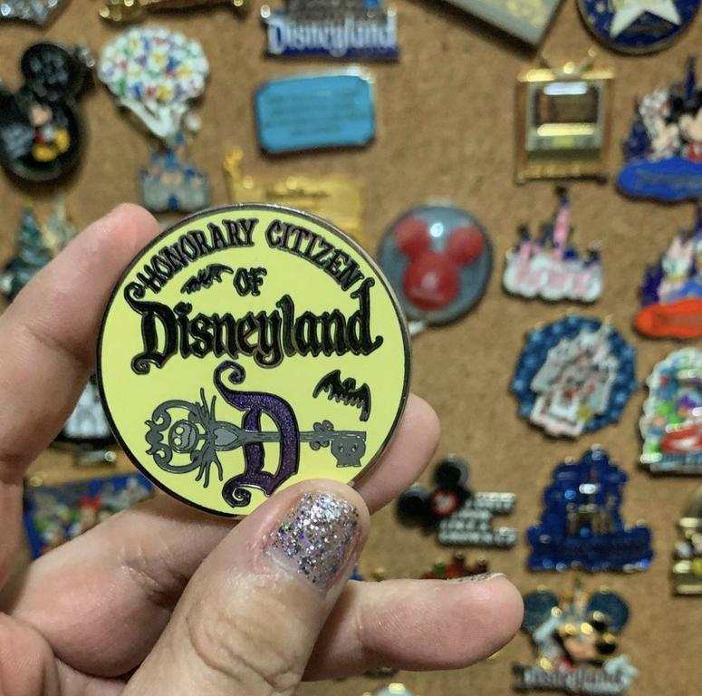 Honorary Citizen of Disneyland Nightmare before Christmas pin