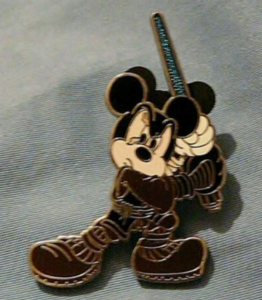Mickey Mouse as Anakin Skywalker - Star Wars Mystery Character Mash Up pin