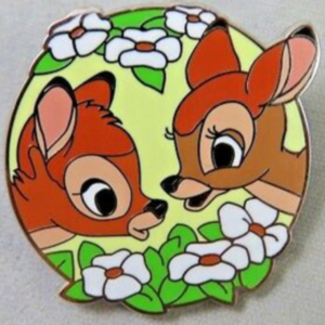 Bambi and Faline - Mystery Couples pin